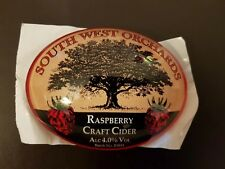 SOUTH WEST ORCHARDS CIDER OVAL BAR FONT  FISH EYE NEW