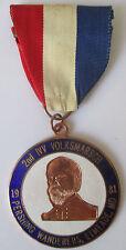Pershing Wanderers 1981 Ft. Meade Md Volksmarch Volksmarsch Medal