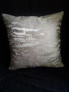 "Grey distressed designer 16""x16""square cushion cover"