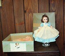 Vintage Madame Alexander doll Beth  original box and metal stand 1948-57 #1190