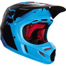 Casco Fox V4 libra Motocross MX-Azul Enduro MTB BMX MIPS