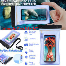 Universal Waterproof Floating Photo Case Bag Pouch For iPhone 7 Plus/ Galaxy S8+