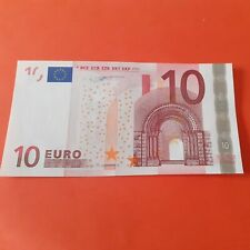 BILLET 10 EURO 2002 NEUF UNC ALLEMAGNE Jean Claude Trichet X     R015 F2