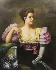 Künstlerische Malerei des Zeitraums 1950-1999 auf Leinwand im Biedermeier - - Öl