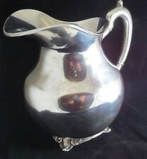 """2 Sterling .925 Mbr Mexico Df"""" Silver Water Pitcher 850g Marked """"Liverpool Eagle"""
