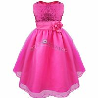 Sequin Girls Dress, Flower Girl Dress, Pageant Birthday Party Dress Size 4 to 10
