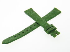 Maurice Lacroix 13mm Green Genuine Stingray Leather Watch Band Strap