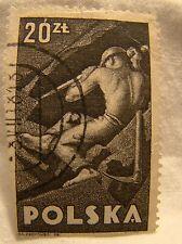 Poland Stamp 1947 Scott 416 A142 20 Zt