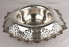 Vintage Shreve and Co. Repose' Sterling Silver Bowl 1900-1940, Bowls