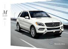 2014 Mercedes Benz M-Class ML350 ML550 28-page Sales Brochure Catalog - ML63 AMG