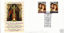 22 JULY 1986 ROYAL WEDDING ROYAL MAIL FIRST DAY COVER SCARCE DEBRETTS SHS