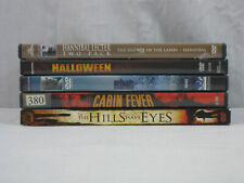 Horror Supernatural Thriller 6 movie DVD lot The Ring, Halloween, Hannibal.. VG