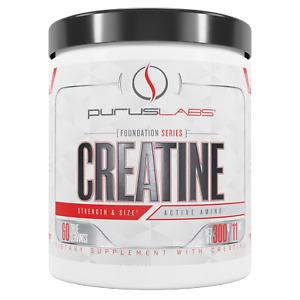 Purus Labs Foundation Series Creatine 300 Grams 60 True Servings Strength Size