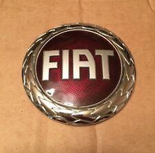 75 mm FIAT DOBLO PUNTO STILO GRANDE PUNTO REAR BADGE EMBLEM LOGO STICKY BACK Red