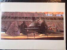 Le retour du jedi Imprimer 1983 Ralph McQuarrie Vintage Fantasy Art Star Wars 7