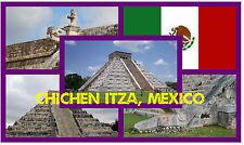 CHICHEN  ITZA ( MEXICO )  - SOUVENIR NOVELTY FRIDGE MAGNET - BRAND NEW - GIFT