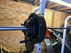 125kg Cast Iron Olympic Weight Plate Set