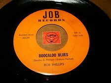 BOB PHILLIPS - BOOGALOO BLUES - GOODWATER WORKHOUSE / LISTEN - FUNK SOUL POPCORN