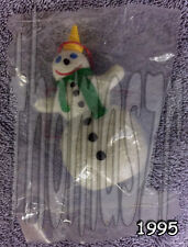 SNOWMAN JACK ornament / figure / toy - JACK in the Box / JBX (1995) *NIOP