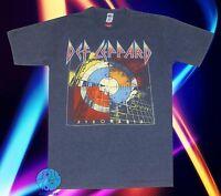 New Def Leppard Pyromania Retro Men's Vintage Classic 80's T-Shirt