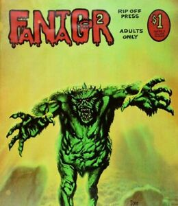 1972 Fantagor No. 2, 1st Heavy Metal, Richard Corben, Comic Book A3