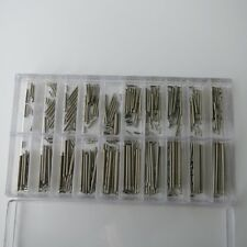 Watch Band Clasp Buckle Tube Friction Pins Link 7mm-26mm Spring Bar 1.2mm Thick