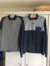 Mens Size M Long Sleeve & Short Sleeve Jack & Jones Polo Tops Pre Owned