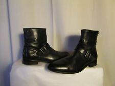 boots/bottines IKKS cuir noir 45
