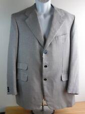 Brioni Blazer 42R Houndstooth Black blue white Wool blend Men 3 pocket