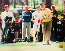 Jack Nicklaus Autographed 16x20 Photo w/ Palmer and Woods - Fanatics Golden Bear