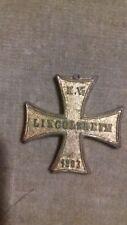 ANCIEN médaille insigne KRIEGERVEREIN LINGOLSHEIM1903 GUERRE 1870  OLD WARRIOR