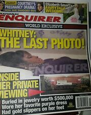WHITNEY HOUSTON Funeral PHOTO NATIONAL ENQUIRER Cover Story, Pictures Inside