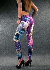 YAKUZA City Leggings LEB 12142 Damen XXS XS S M L XL sexy Pants Flowers of Death