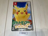 Nintendo Switch Pokemon Let's Go Pikachu!  JAPAN monster
