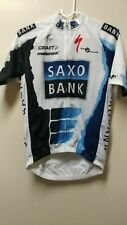 Craft Specialized Team Saxo Bank Road Bike Jersey Small Medium NWT