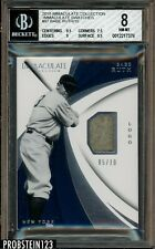 2018 Immaculate Collection Swatches #97 Babe Ruth Jersey Patch 5/10 BGS 8 NM-MT