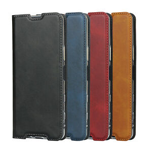 For Sony Xperia 5 II Magnetic Leather Phone Case Protector Flip Wallet