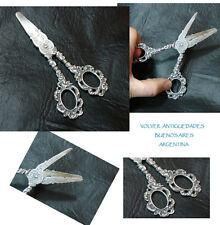 Antique German silver grape scissors
