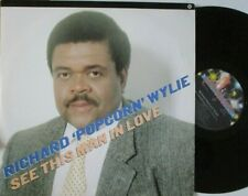 """RICHARD POPCORN WYLIE ~ See This Man In Love ~ 12"""" Single PS"""