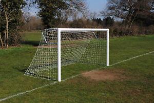 Pair of 12x6 Mini Soccer Aluminium Football Goals -  Made in the UK - Free P&P