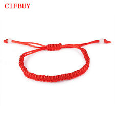 Cifbuy Thin Red Thread String Rope Charm Bracelets for Women Link Chain Jewelry