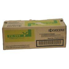 GENUINE Kyocera TK-594Y YELLOW Toner Cartridge for Ecosys M6026cdn