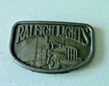Raleigh Lights/Semi Truck Belt Buckle