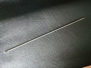 "10"" Buttoning needle. Single point upholstery needle"