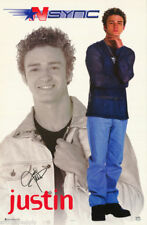 Nsync Justin Timberlake poster #7566 from 2000 brand new overstock