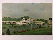 Yale Motor Inn Wallingford Connecticut Chrome Color Postcard April 24, 1960