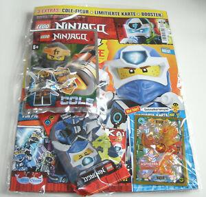 LEGO Ninjago - Magazin Nr. 62 mit Cole und LE11 Aspheera