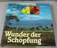 Wunder d. Schöpfung - Abenteuer d. Lebens - Farbenprächtiger Bildband 1986 /S199