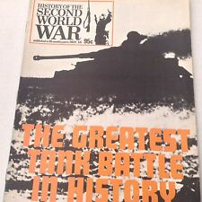 Second World War Magazine Greatest Tank Battle Part 50 1974 071217nonrh