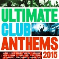 Various Artists - Ultimate Club Anthems 2015 2cd